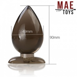 Silicone Anal Plug Drop - 90mm - mae-ty-098-90