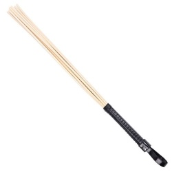 Eight Rattan Cane with Black Grip by Mae-toys - mae-sm-105-blk