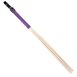 Eight Rattan Cane with Purple Grip by Mae-toys - mae-sm-105-pur
