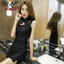 Chinese traditional Cheongsam Dress - mae-cl-128