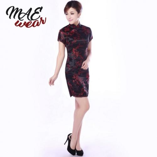 High Fashion Classical Chinese Cheongsam Dress - MAE-CL-140