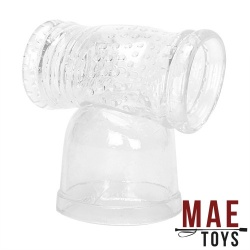 MAE-Toys TPE Masturbation Sleeve Wand Attachment - mae-ty-166