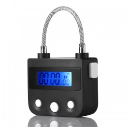 MAE-Toys Rechargeable BDSM Timer Lock - mae-sm-172