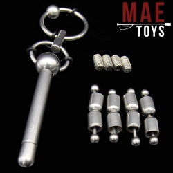 MAE-Toys Combination Stainless Steel Urethral Sound - MAE-SM-181