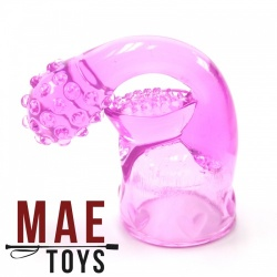 Roze Magic Wand Attachment voor 35 - 45 mm massage heads  - mae-ty-192