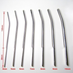 MAE-Toys Stainless Steel Dilator Set (7pcs.) - mae-sm-199