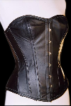Leather Corset Black Plus-Size - et-ec007-led-plus