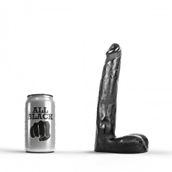 PVC realistic Dildo 21cm by All Black - 115-ab04