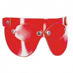 Red Leather Eyemask 405 - Le-405-RED