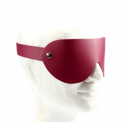 Fuchsia Leather Blindfold - fp-088