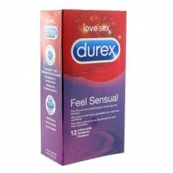 Durex Feel Sensual Condoms (12 PCS.) - ep-e20298