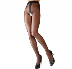 Strass Panties met open kruis van Cottelli Collection - Or-25100901021