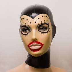 Feitico Latex Mask 'Damia'  - ft-01-13