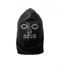 Soft Leather Hood with Eyelets - os-0129