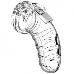Chastity Man Cage Transparent - Model 04 - mcg004tra