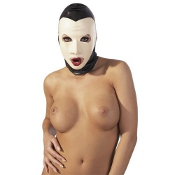 "Latex mask ""Pierrot"" - 02872020000"