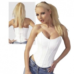 Wit Corset maat XL  - or-02414150000