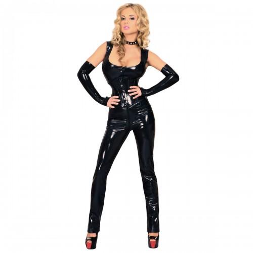 Sexy Datex Overall Catsuit von Insistline - le-9055