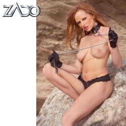 Leather Collar by Zado - or-02556960000