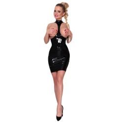 Datex Spanking Kleid busenfrei von Insistline - le-9173