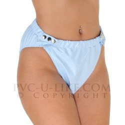 PVC High Leg Popper Pants - pul-pa29