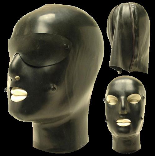 Discipline Latex Masker DM1 - sg-dm1