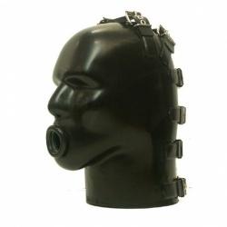Latex Helm mit Ringknebel von Studio Gum - sg-m4c-r