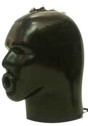 Heavy Rubber Latex Helmet M4c-s - sg-m4c-s