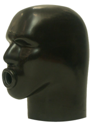 Zware Rubber Latex Helm M4B-z - sg-m4b-z