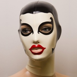 Feitico Latex Mask 'Athene' - ft-01-12