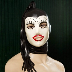 Feitico Latex Mask 'Ares' - ft-02-05