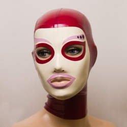 Feitico Latex Mask 'Eos' - ft-01-22