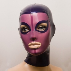 Feitico Latex Mask 'Gaia' - ft-01-21