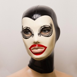 Feitico Latex Mask 'Melantho' - ft-01-09