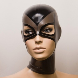 Feitico Latex Mask 'Selene' - ft-01-23