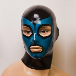 Latex Mask 'Triton' - ft-02-03