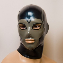 Latex Mask 'Uranos' - ft-02-07