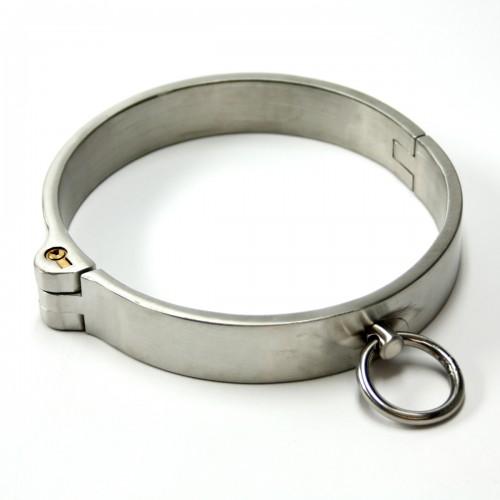 RVS Afsluitbare Halsband (Dames Versie)