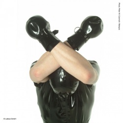 Latex Bondage gloves - la-1237
