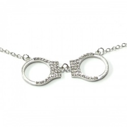 Handcuffs Necklace by MAE-Wear - mae-cl-058