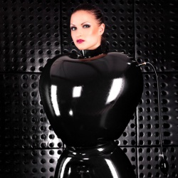 Inflatable Latex Ladies' Straitjacket by Latexa - le-3295