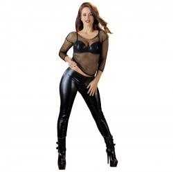 Wetlook Leggings by Cottelli Collection - or-2720086