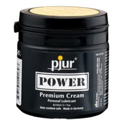 Pjur Power Premium Cream Lubricant Tiegel, Gleitmittel, 150 ml - ep-e22505
