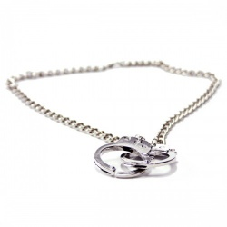 Unisex Necklace 'Handcuffs' by MAE-Wear - mae-cl-086