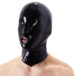 Latex Masker met O-ring van Late X - or-29202631001
