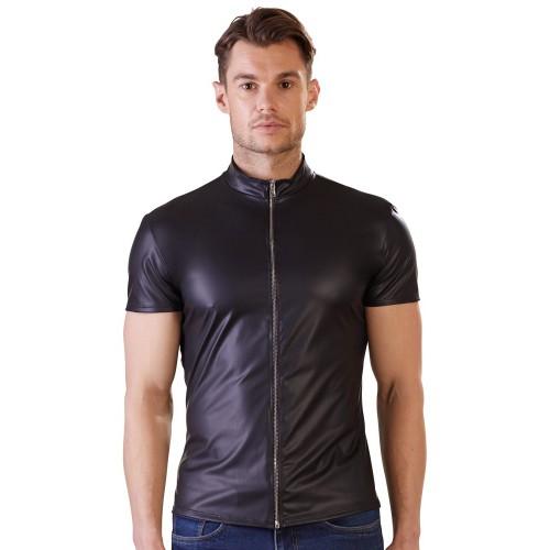 Shirt im Matt-Look mit Reißverschluss von NEK - or-2161109