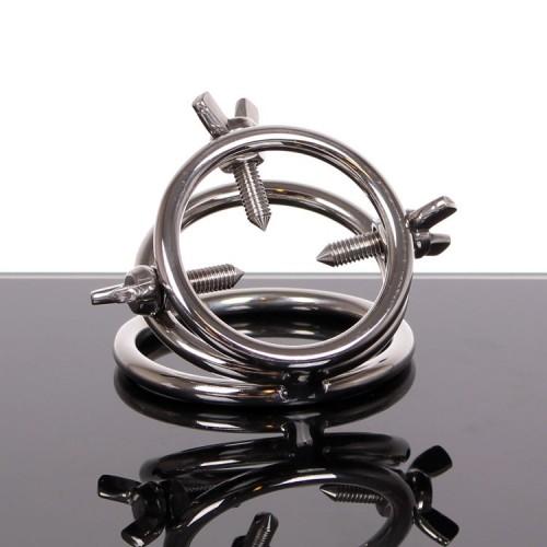 Ball Ring met Schroeven van Kiotos Steel - 112-tms-1321