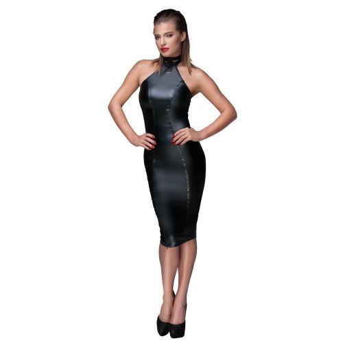 Kleid, mit Halsband und Reißverschlüssen - or-271666610