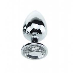 Juweel Butt Plug Transparant Ø 27mm van MAE-Toys - bhs-106clr27