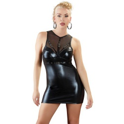 Wetlook Mini Dress by Cottelli Collection  - or-2716925